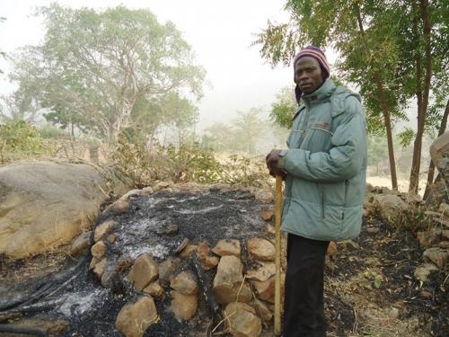 Aftermath of the insurgency at the Sukur Cultural Landscape World Heritage Site in Nigeria (Photo credit: Yusuf Abdallah Usman)