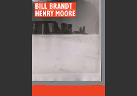 Bill Brandt / Henry Moore, book cover, Martina Droth and Paul Messier, Yale University Press, 2020