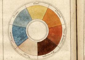 Hand-colored engraving in P. J. Verly, Verhandeling van de schilderkonst in miniatuur, om gemakkelyk te leeren schilderen zonder meester, Utrecht, 1744, National Gallery of Art Library, Image credit: National Gallery of Art