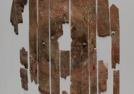 Image of the Roman shield (photo credit YUAG)