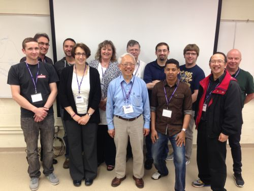 Participants and instructors during the second week of the 2015 XRF Short Course at the University of Western Ontario